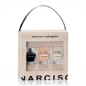 Narciso rodriguez 30ml x 3 (30ml edp + 30ml edt + 30ml poudre)