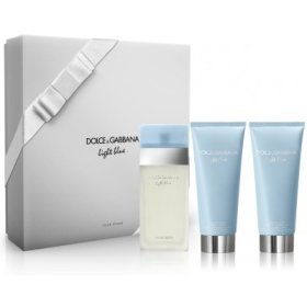 Dolce & Gabbana Light Blue Nữ (EDT 100ML + BC 100ML + SG 100ML) 5