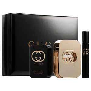 Gucci Guilty Nữ (EDT 75ML + BL 100ML + Roller ball 7.4ML)