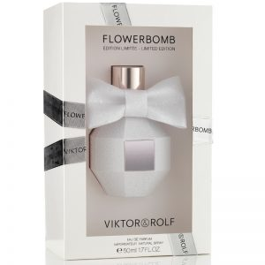 Viktor&Rolf flowerbomb edp women 50ml limited edition (trắng)