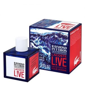 Lacoste Live Raymond Pettibon collector's edition 100ml