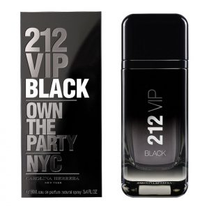 Carolina Herrera 212 VIP Black for men 100ml