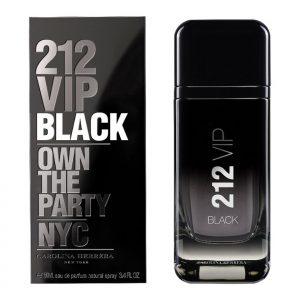 Carolina Herrera 212 VIP Black for men 100ml