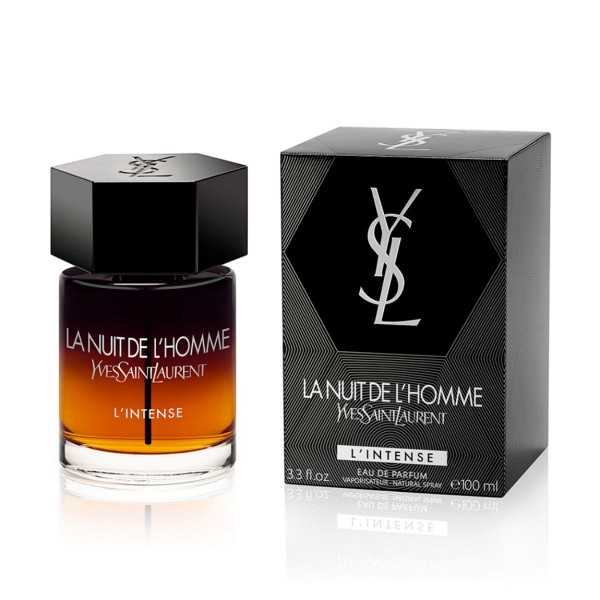 yves saint laurent la nuit de l homme l intense edp. Black Bedroom Furniture Sets. Home Design Ideas