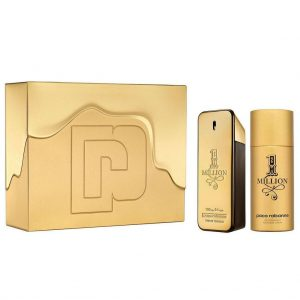 Paco Rabanne One Million men (100ml edt + 150 Deodorant spray)