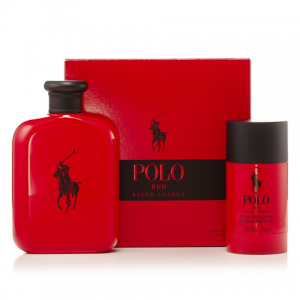 Ralph Lauren Polo Red (125ml EDT + Deodorant stick 75g)