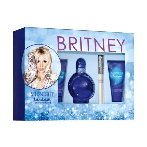 Britney Spears Midnight Fantasy (EDP 100ml + Mini 10ml + Showergel 50ml + Bodylotion 50ml)