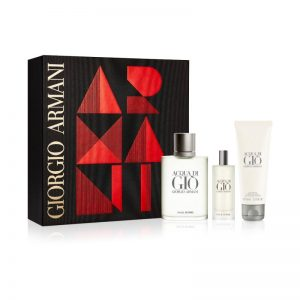 Giorgio Armani Acqua di gio (100ml EDT + Mini 15ml + Shower gel 75ml)