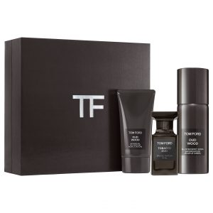Set Tom Ford Oud Wood (EDP 50ml + Body spray 150ml + Showergel 75ml)