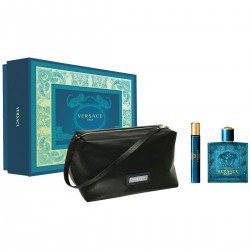 Set Versace Eros Man (EDT 100ml, Mini 10ml, Túi)