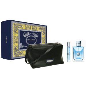 Set Versace Pour Homme (EDT 100ml, Mini 10ml, Túi)