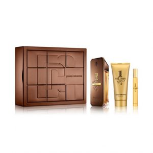 Set Paco Rabanne One Million Prive (Edp 100ml, Mini 10ml, Showergel 100ml)