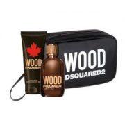 Set Dsquared2 Wood Pour Homme (EDT 100ml, showergel 100ml, Túi) - nam 2