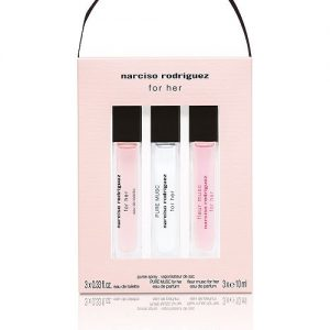 Set Narciso Rodriguez For Her 10ml x 3 mini (edt, pure musc, fleur musc) - nữ 2