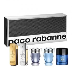 Set Paco Rabanne Mini Nam (One million, One million lucky, Invictus, Invictus aqua, Pure xs) - nam