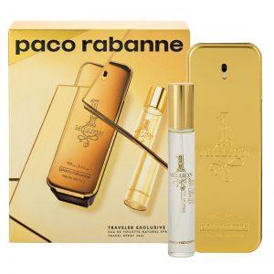 Set Paco Rabanne One Million (EDT 100ml + Mini 20ml) - nam