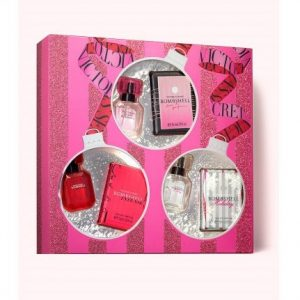 Set Victoria Secret 3 mini x 7.5ml (Bombshell, Bombshell Holiday, Bombshell Intense) - nữ