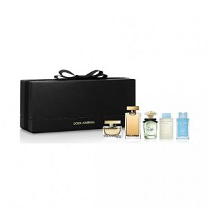 Set Dolce Gabbana Mini women (light blue, the one edp, dolce edp, the one edt, light blue eau intense) - nữ