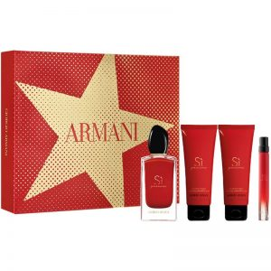 Set Giorgio armani Sì Passione (Edp 100ml + Mini 10ml + 2 bodylotion 75ml) - nữ