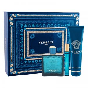 Set Versace Eros Man (EDT 100ml, Mini 10ml, Showergel 150ml - nam