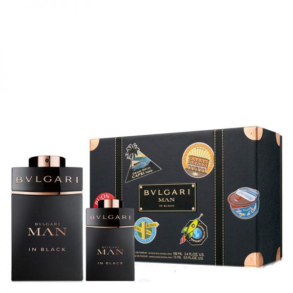 Set Bvlgari MAN In Black (EDP 100ml, Mini 15ml - nam