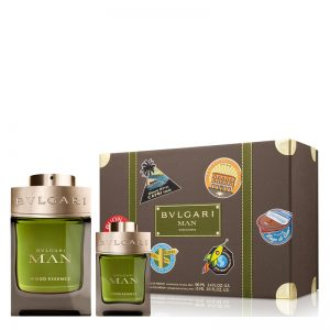 Set Bvlgari MAN Wood Essence (EDP 100ml, Mini 15ml) - nam