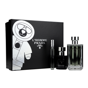 Set Prada L'Homme (EDT 100ml, Mini 10ml, Shower Cream 100ml) - nam