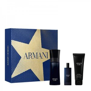 Set Giorgio Armani Armani code Pour Homme (EDT 75ml + Mini 15ml + Showergel 75ml) - nam