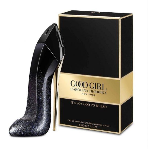Carolina Herrera Good Girl Supreme (guốc nhũ đen) 80ml - nữ