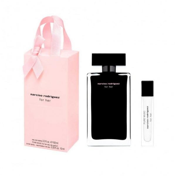 Set Narciso For Her (EDT 100ml, Pure Musc Mini 10ml) - nữ