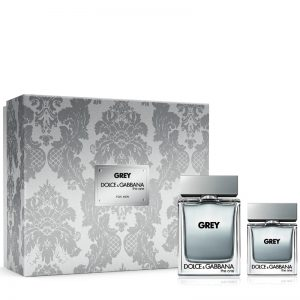 Set Dolce Gabbana The One Grey For Men (EDT 100ml, EDT 30ml)