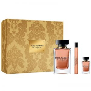 Set Dolce Gabbana The Only One women (EDP 100ml, Mini 10ml, Mini 7.5ml) - nữ