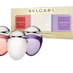 Set Bvlgari Women 3 Mini x 15ml (Crystalline , Amethyste, Coral) - nữ