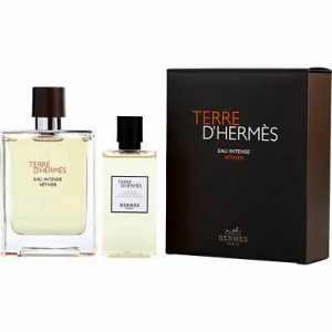 Set Hermes Terre D'hermes Eau Intense Vetiver (EDP 100ml + 80ml Showergel) - nam
