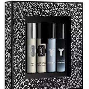 Set Yves Saint Laurent Men 4 mini x 10ml (L'homme, La nuit l'homme, Y edp, Y edt) - nam