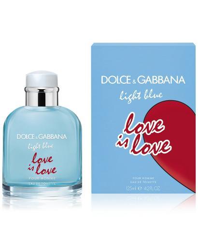 Dolce Gabbana Light blue Love Is Love pour homme EDT 125ml 3