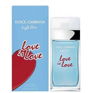 Dolce Gabbana Light blue Love Is Love women EDT 100ml 4