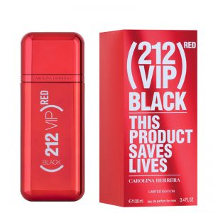 Carolina Herrera 212 VIP Black Man Limited Red